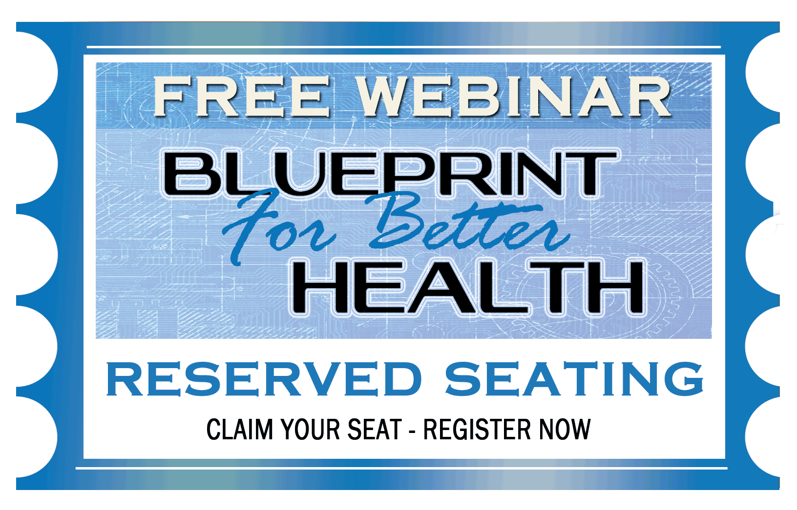 Blueprint for better health dr david trybus claim your seat here malvernweather Images